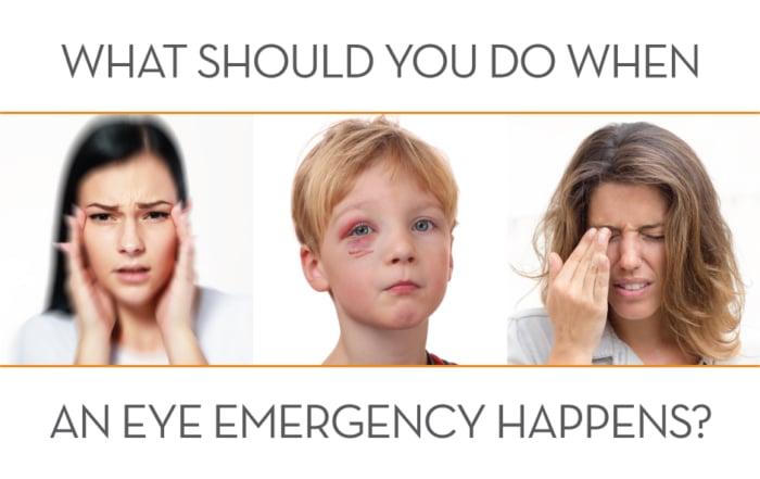 Emergency eye care